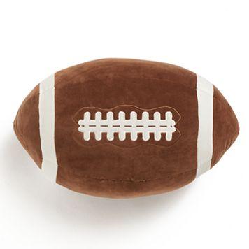 Jumping Beans Football Throw Pillow