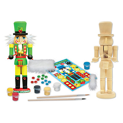 Masterpieces Puzzle Works of Ahhh? Nutcracker Drummer Wood Painting Kit