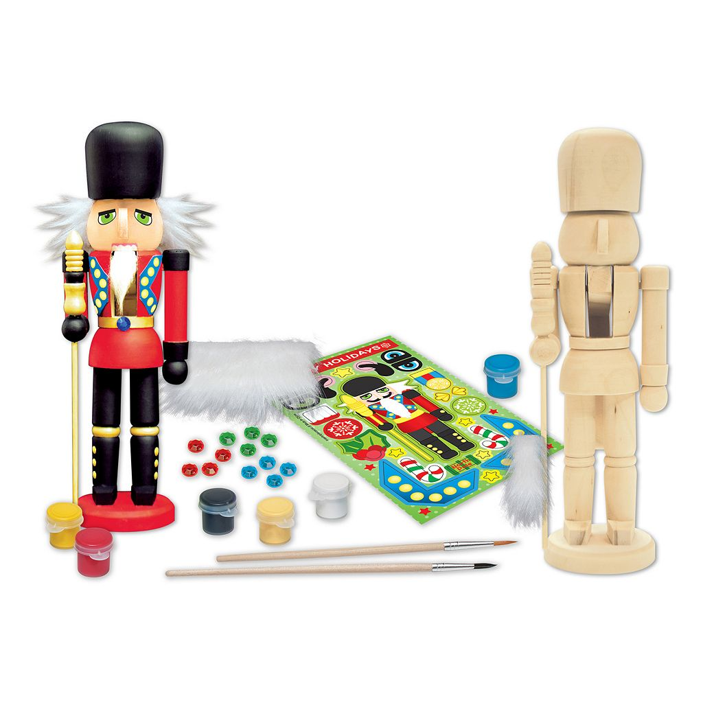 Masterpieces Puzzle Works of Ahhh... Nutcracker Guardsman Wood Painting Kit