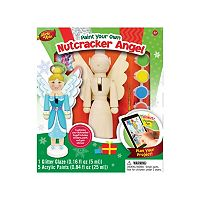 Masterpieces Puzzle Works of Ahhh... Nutcracker Angel Wood Painting Kit