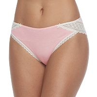 Maidenform Lace Trim Cheeky Tanga Panty DMCS59