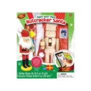 Masterpieces Puzzle Works of Ahhh... Nutcracker Santa Wood Painting Kit