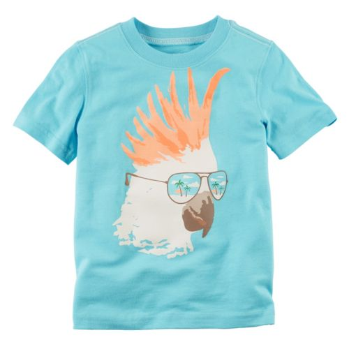 Baby Boy Carter's Sunglasses Parakeet Graphic Tee