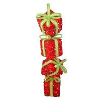 National Tree Company Gift Stack Christmas Floor Decor