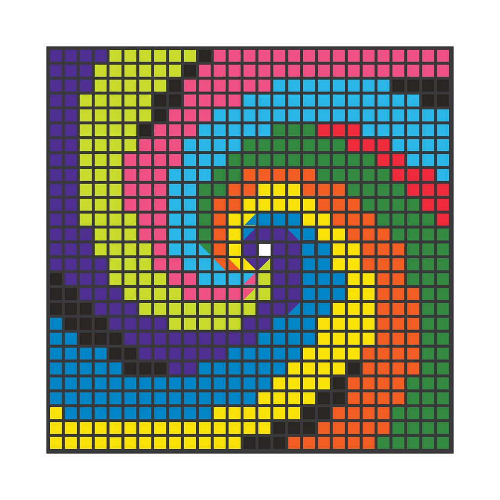 MindWare 1680-pc. Mosaic MagnaPatterns Puzzle By Number Set
