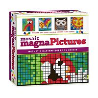 MindWare 2960-pc. Mosaic MagnaPictures Puzzle By Number Set