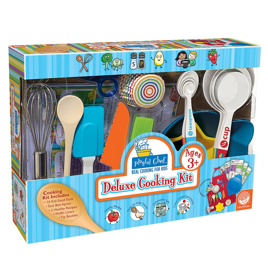 MindWare Playful Chef Deluxe Cooking Kit