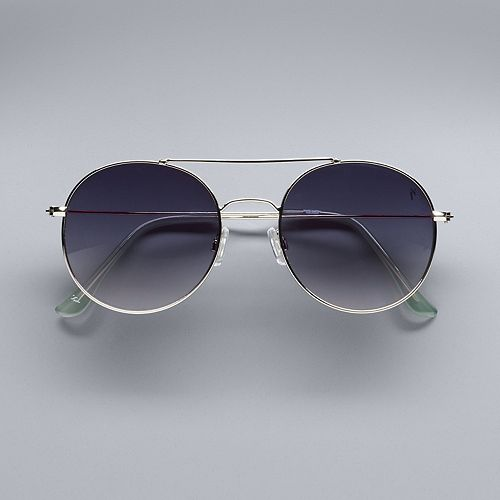 46ecc2cc10af Simply Vera Vera Wang 54mm Women s Aviator Sunglasses