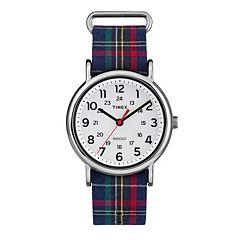 Timex Women's Weekender Plaid Watch - TW2R10900JT