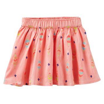Toddler Girl OshKosh B'gosh® Floral Glitter Skirt