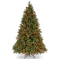 National Tree Company 7.5-ft. Douglas Fir Multicolor Pre-Lit Artificial Christmas Tree