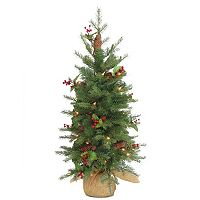 National Tree Company 3-ft. Nordic Spruce Pre-Lit Artificial Christmas Tree
