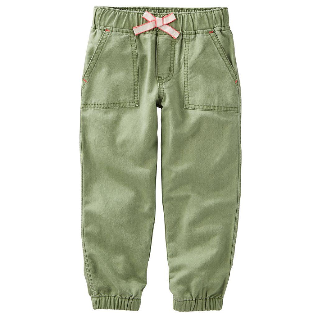 Toddler Girl OshKosh B'gosh® Twill Pants