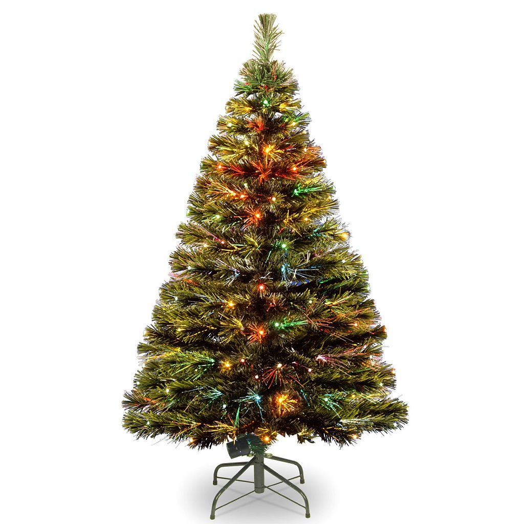 National Tree Company 4-ft. Fiber Optic Artificial Christmas Tree Floor Decor