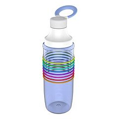 Planet Zak 32-oz. HydrTrak Clear Tritan Chug Bottle
