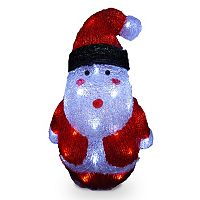 National Tree Company 16-in. Pre-Lit Santa Christmas Decor