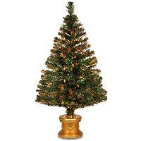 National Tree Company 48-in. Fiber Optic Evergreen Firework Artificial Christmas Tree