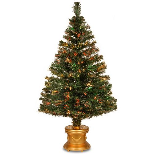 National Tree Company 48-in. Fiber Optic Evergreen Firework Artificial Christmas Tree