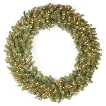 National Tree Company 60-in. Douglas Fir Pre-Lit Artificial Christmas Wreath