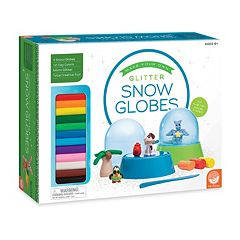 MindWare Make Your Own Glitter Snow Globes Kit
