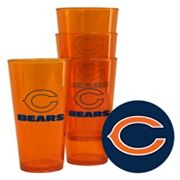 Boelter Brands Chicago Bears 4-Pack Pint Glasses