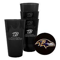 Boelter Brands Baltimore Ravens 4-Pack Pint Glasses