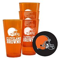 Boelter Brands Cleveland Browns 4-Pack Pint Glasses