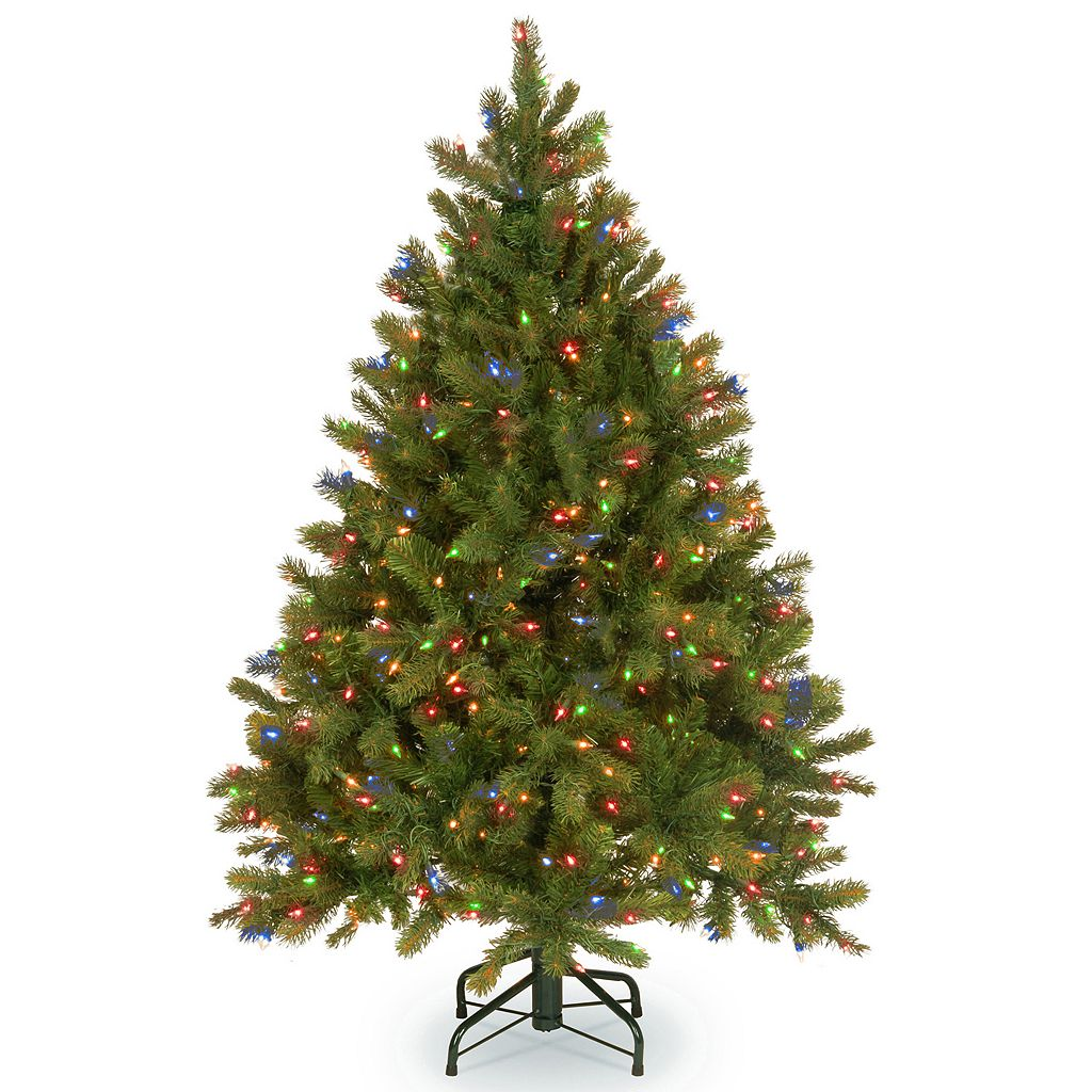 National Tree Company 4.5-ft. Douglas Fir Hinged Pre-Lit Artificial Christmas Tree