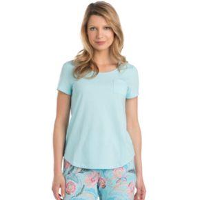 Women's Jockey Pajamas: Pocket Short Sleeve Tee