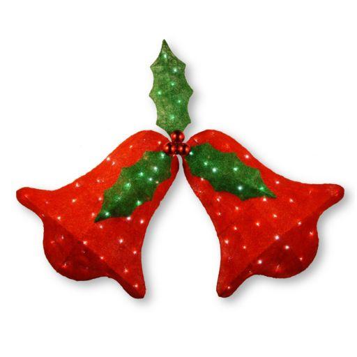 National Tree Company 45-in. Pre-Lit Sisal Jingle Bells Christmas Wall Decor