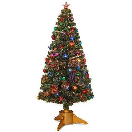 National Tree Company 6-ft. Fiber-Optic Artificial Christmas Tree Floor Decor