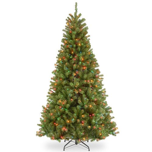 Pre Lit Christmas Tree Fuses: National Tree Company 7-ft. North Valley Spruce Hinged