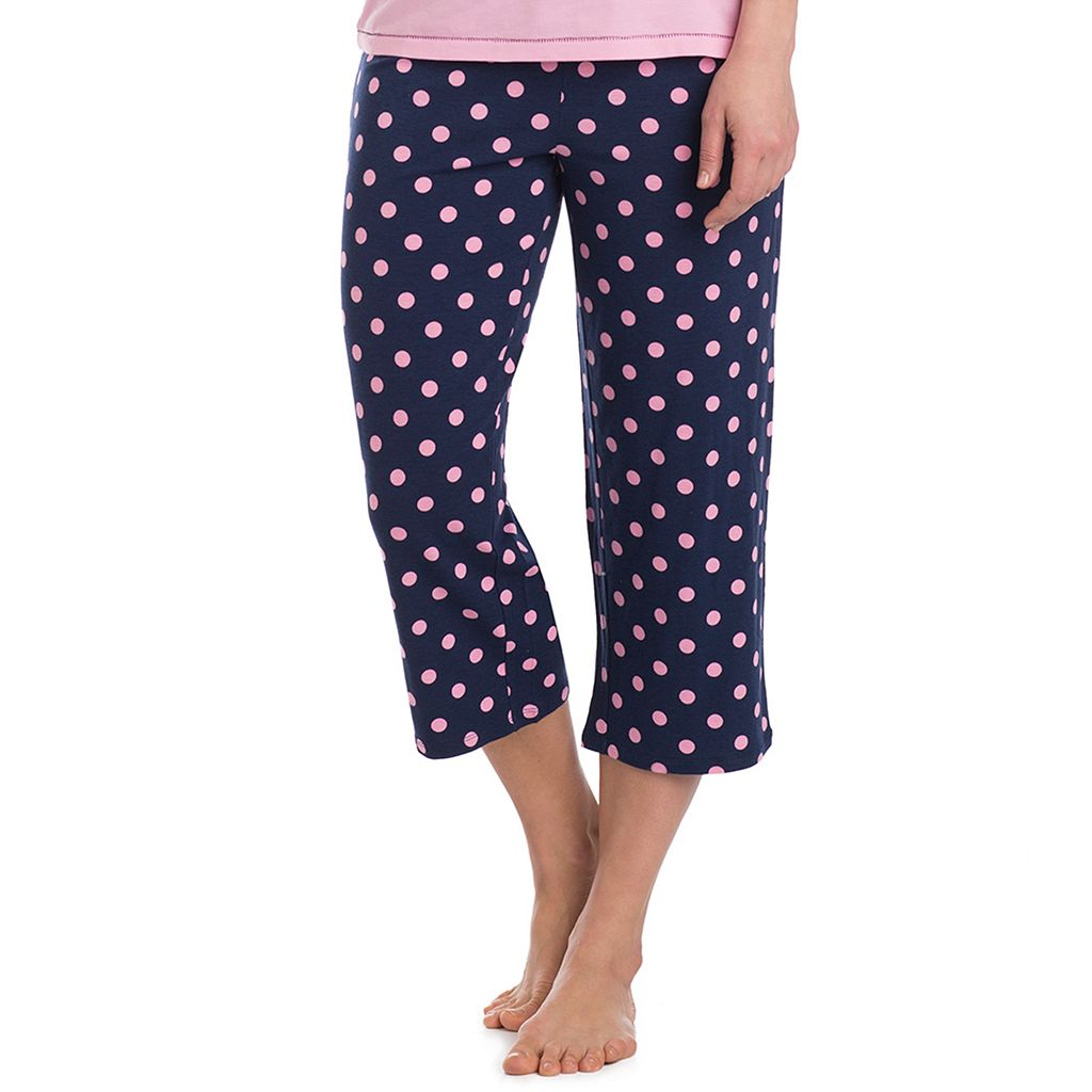 Women's Jockey Pajamas: Capri Pants