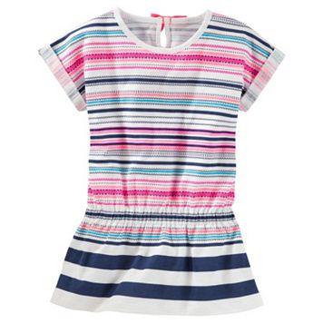 Toddler Girl OshKosh B'gosh® Striped Drop-Waist Tunic