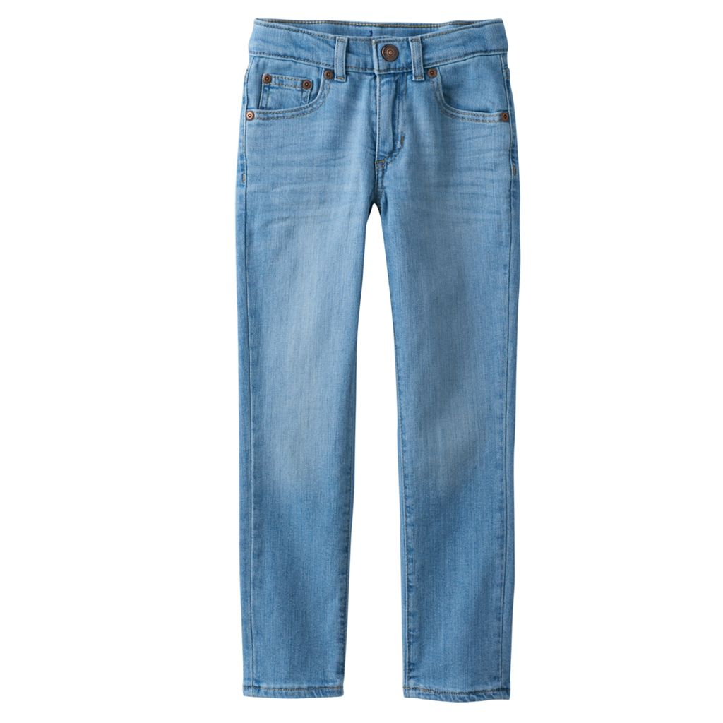 Boys 4-7x SONOMA Goods for Life™ Light Wash Skinny Jeans
