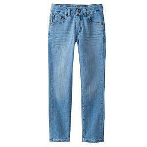 Boys 4-7x SONOMA Goods for Life™ Light Wash Skinny Jeans