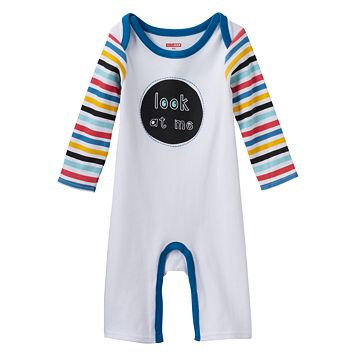 Baby Boy Skip Hop Embroidered Graphic Coverall