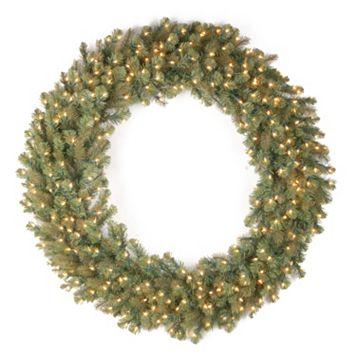 National Tree Company 48-in. Douglas Fir Pre-Lit Artificial Christmas Wreath