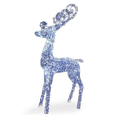 National Tree Company 60-in. Pre-Lit Deer Christmas Decor