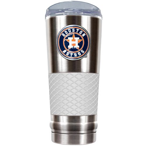Houston Astros 24-Ounce Draft Stainless Steel Tumbler