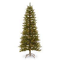 National Tree Company 6.5-ft. Folding Pre-Lit Artificial Christmas Tree