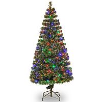 National Tree Company 72-in. Fiber Optic Artificial Evergreen Christmas Tree