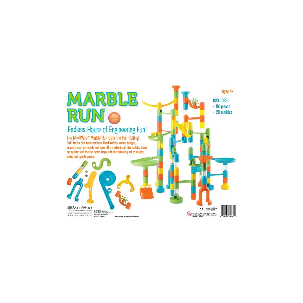 MindWare Marble Run Set