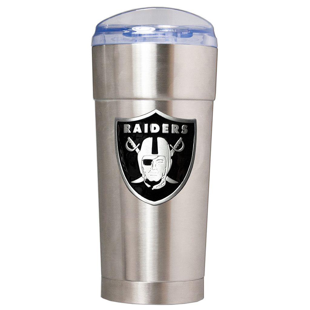 Oakland Raiders Eagle Tumbler