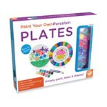 MindWare Paint Your Own Porcelain Plates Set