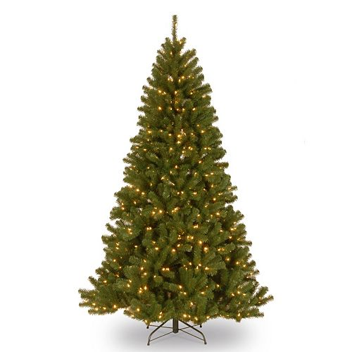 Pre Lit Christmas Tree Fuses: National Tree Company 6.5-ft. North Valley Spruce Hinged
