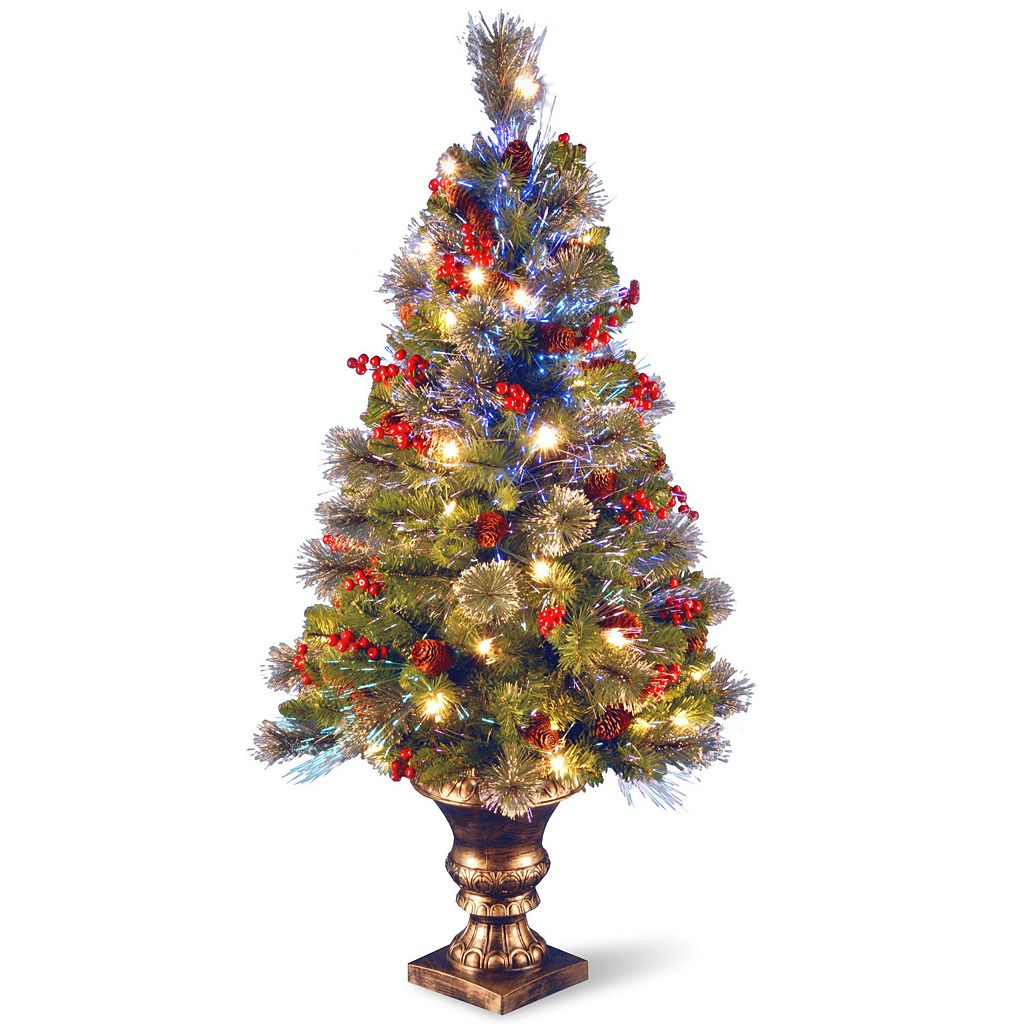 National Tree Company 4-ft. Fiber Optic Crestwood Spruce Artificial Christmas Tree