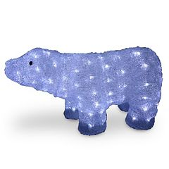 National Tree Company 11-in. Pre-Lit Bear Indoor / Outdoor Decor