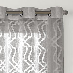 Sonoma Goods For Life? 2-pack Asbury Clipped Sheer Window Curtains