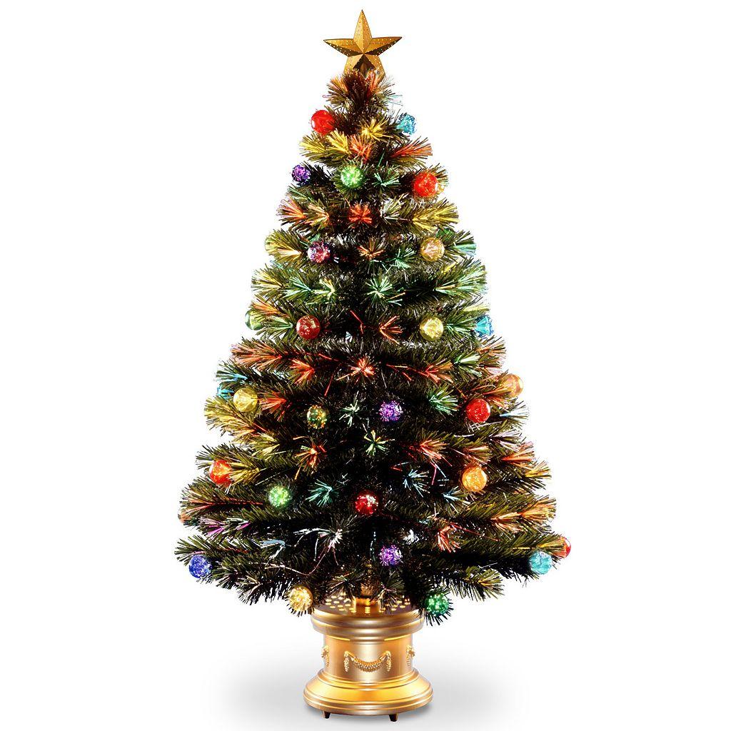National Tree Company 4-ft. Multicolor Fiber-Optic Artificial Christmas Tree Floor Decor